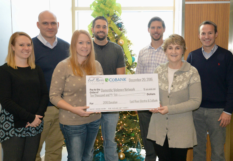 East River Donates to Local Domestic Violence Network