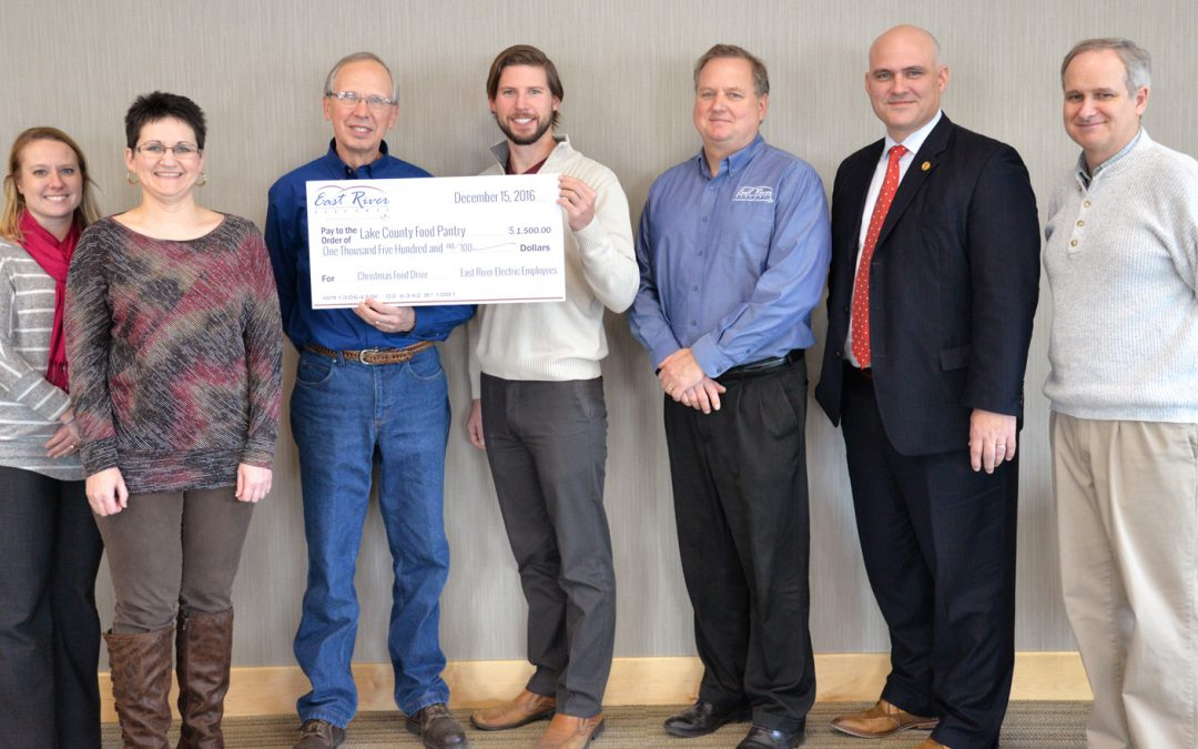 East River Donates to Local Food Pantry